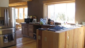 Here is the bulk of the kitchen.