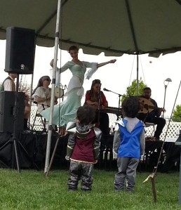 Sadaqah Middle Eastern music and dance.